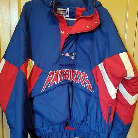 competitive price 54e30 f91a7 New England Patriots STARTER Jacket